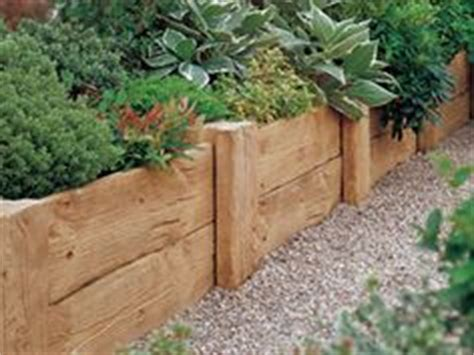 wood flower bed border 1000 images about garden ideas on pinterest raised beds