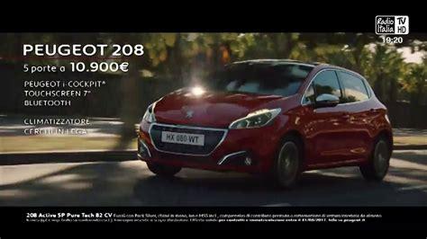 peugeot commercial peugeot 208 2017 italian advert youtube
