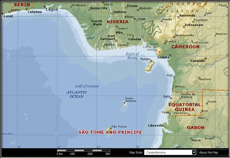 africa map gulf of guinea map of nigeria gulf of guinea and the coastal countries