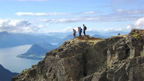 Kupluk Hiking 6 In 1 safety romsdalseggen summer hike visit
