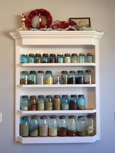 Jar Shelf by Jar Shelf Kitchen Dining Room Ideas For New House
