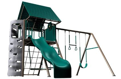 heavy duty metal swing set lifetime 90042 swing sets lifetime heavy duty swing set