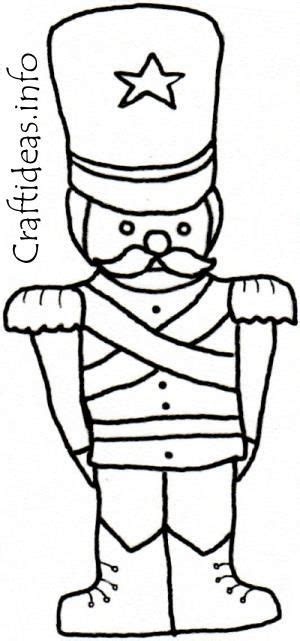 toy soldier craft for kids nutcracker coloring sheets coloring book page for soldier diy crafts