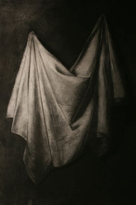 drapery drawing drapery charcoal drawing by msmuerte on deviantart
