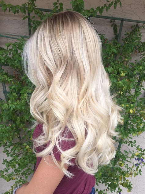 cute color hairstyles tumblr blonde balayage on natural level 8 hair http rnbjunkiex
