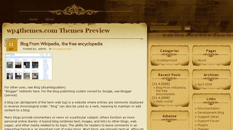 wordpress themes free unique 29 free wordpress themes