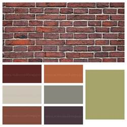 brick paint colors with brick house colors pictures to pin on