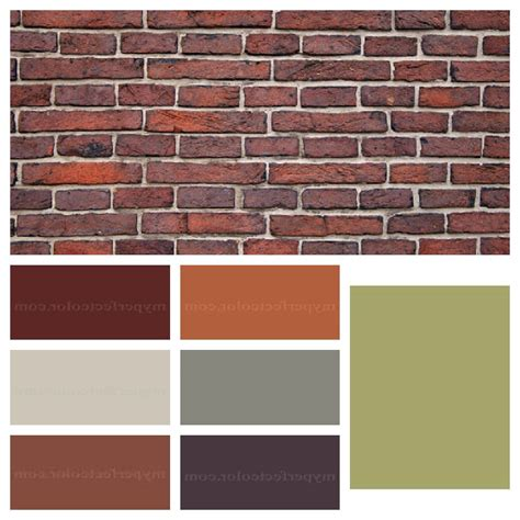 colors that match brick with pictures ehow colors that match brick pilotproject org