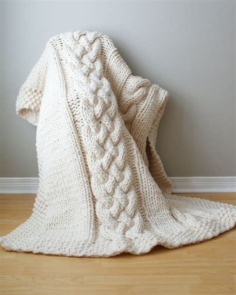 chunky cable knit throw blanket throw blanket chunky cable acrylic throw