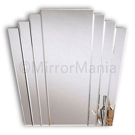 art deco style bathroom mirrors trinity art deco fan mirror art deco mirrors