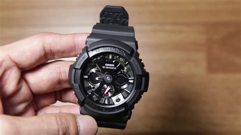 Casio G Shock Ga 201 casio g shock ga 201 1a new model