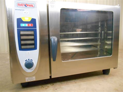 Oven Rational used rational scc 62 convection steam oven 3 phase 480 volt clean