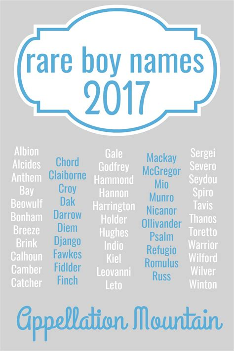 baby boy names looking for unique baby names these rare boy names were