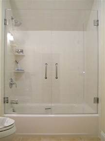 bathtub frameless shower doors 25 best ideas about tub glass door on shower