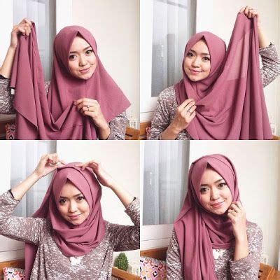 tutorial jilbab pashmina simple dan modis 1000 images about hijab terbaru fashion dan aksesoris on