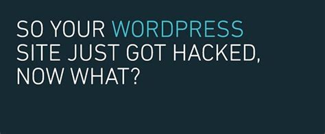 So You Got Your Mba Now What by So Your Site Just Got Hacked Now What