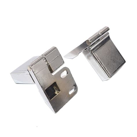 Glass Door Hinges For Cabinets 1 Pair Of Glass Door Display Cabinet Hinge Zinc Alloy Modern Furniture Hinges Ebay