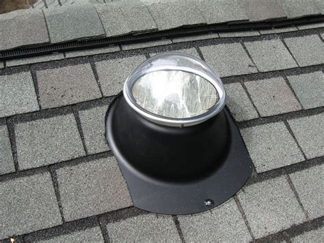 Solar Roof Light Slt On A Roof Skeele Services