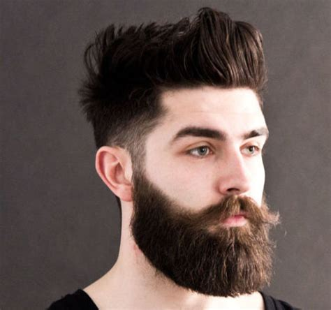 Best Hairstyle With Beard by Coolest Hairstyles With Beards 2016 S