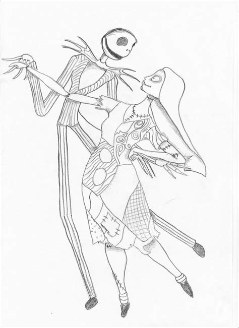 skellington coloring pages skellington coloring page coloring home
