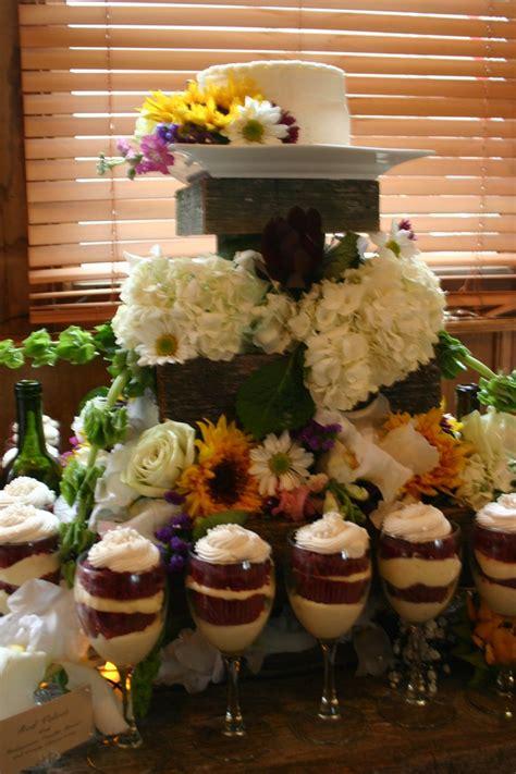 desserts served in wine glasses k s bridal shower pinterest