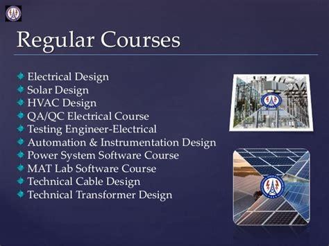 design engineer online degree solar power plant training courses institute of