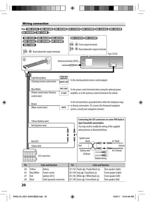 kenwood kdc mp142 wiring diagram webtor me