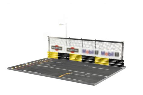 R3 Papercraft - tiny 1 43 r3 racing circuit starting point diorama set tiny