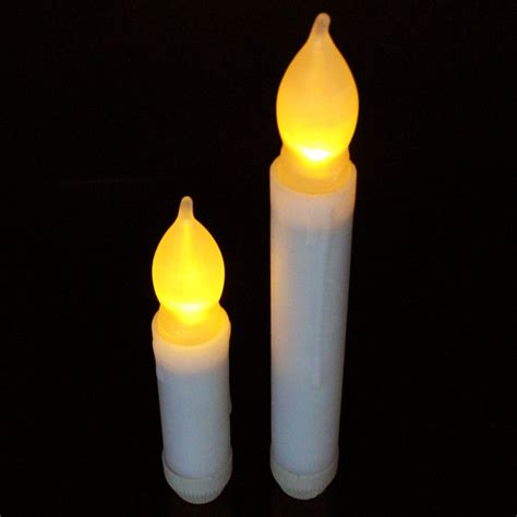battery taper candles uk small led flickering battery operated taper candles x12 tj lighting solutions