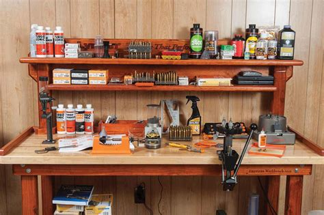 best gun cleaning table the reloading bench thegunmag the official gun