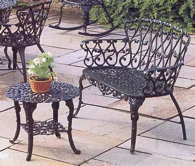 heart garden bench garden bench cast aluminum patio garden furniture heart