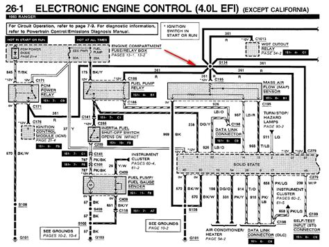 1998 ford ranger engine wiring diagram 1998 ford ranger