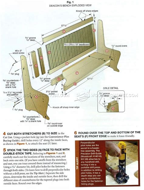 deacon bench woodworking plans deacon benches plans benches