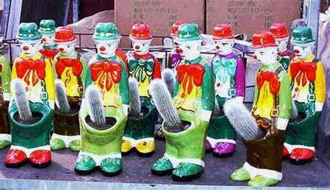 Dachshund Planter clown cactus planter