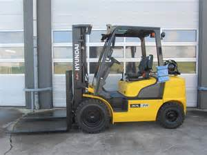 Hyundai Forklift Usa Used Hyundai 30l 7a Lpg Forklifts Year 2015 For Sale