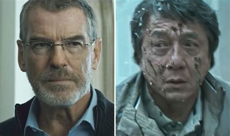 a look at pierce brosnan in the foreigner manlymovie the foreigner trailer pierce brosnan and jackie chan in