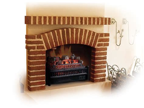 electric fireplace log inserts mantelsdirect