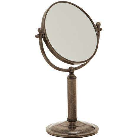 pedestal vanity mirror taymor 194 174 pedestal vanity mirror 226 antique pewter