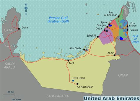 arab emirates map world travels united arab emirates the swiss rock