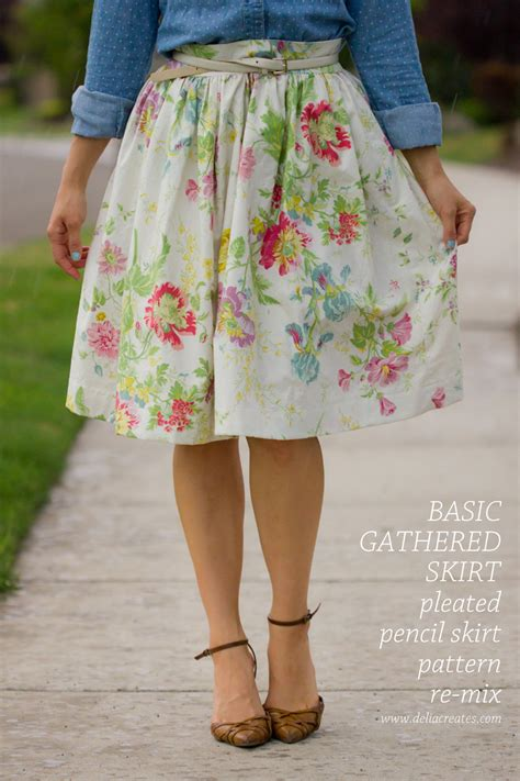 pattern making gathered skirt gathered skirt pattern re mix tutorial