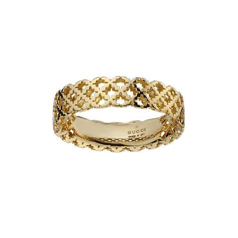 Anello Donna Gucci Diamantissima piccolo oro giallo   Gucci 341236 J8500 8000