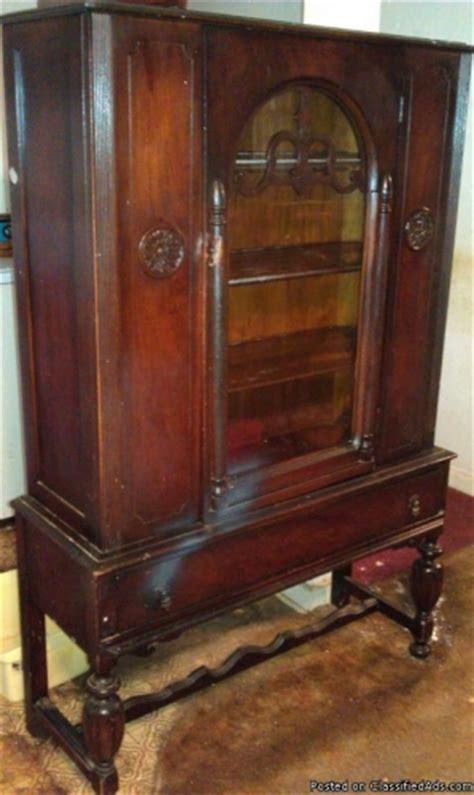 antique china cabinet value   bukit