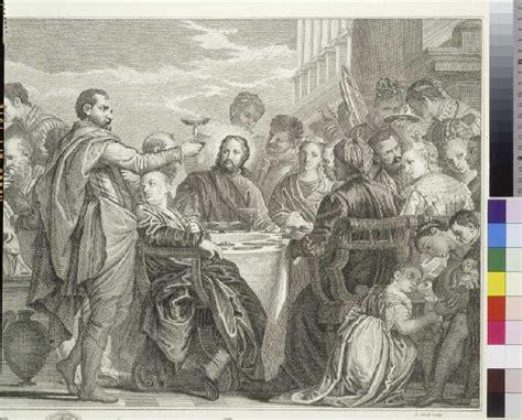 Hochzeit Zu Kana by Die Hochzeit Zu Kana Louis Jacob Als Kunstdruck Oder