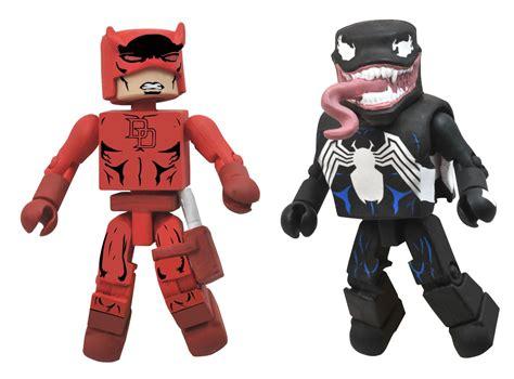 Venom Marvel Figure Mini Mates marvel minimates best of series 2 daredevil and venom 2 pack