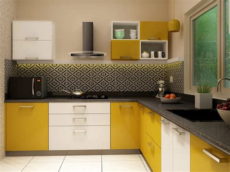 five basic shapes of modular kitchen designs from kelly l shaped modular kitchen designs india homelane