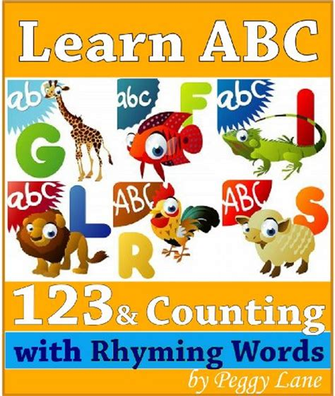 my words animals book abc s for alphabet book abc book baby book toddler book children book boys animal comics graphic color illustrations volume 1 books 8 books of peggy quot learn abc and 123 abc book of