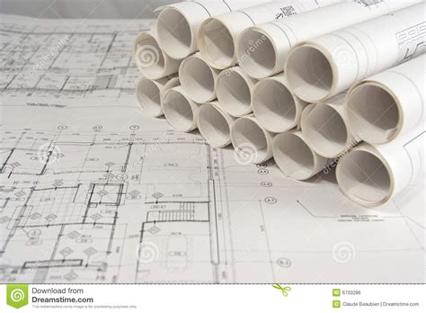 free architectural drawing engineering and architectural drawings stock photo image