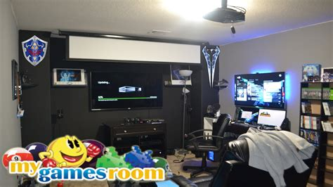 my gaming room best gaming room 2015 january work in progress one of