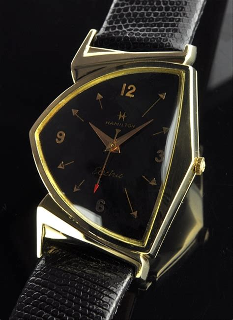 hamilton electric pacer 14k gold watchestobuy
