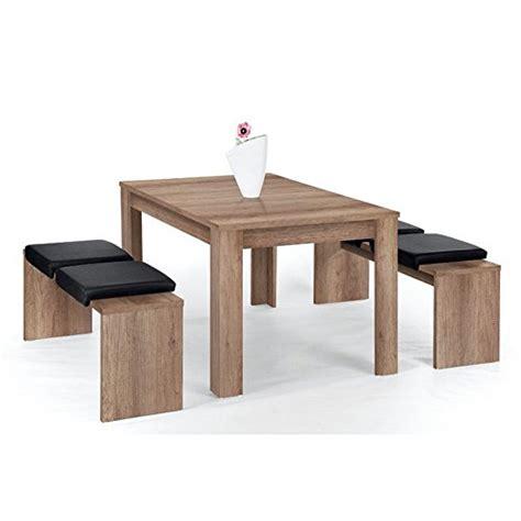 schwarzer speisesaal mit bank set l 252 beck bank set essgruppe sitzgruppe grey mit tisch